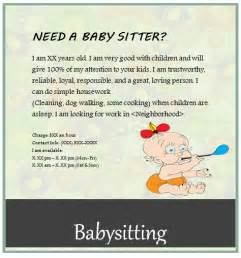 Babysitting Flyer Free Template by Free Babysitting Flyers Unique Ideas Beautiful Templates