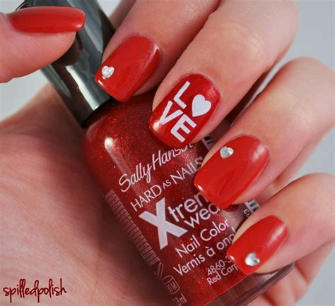 easy valentines nails discover and save creative ideas