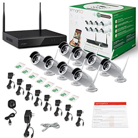 Cctv 8 Channep 960p Wireless liner xmarto 8 channel 960p hd wireless security import it all