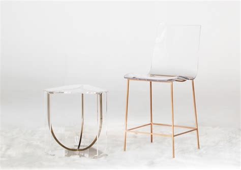 Lucite And Gold Bar Stools by Lucite Bar Stools Swineflumaps