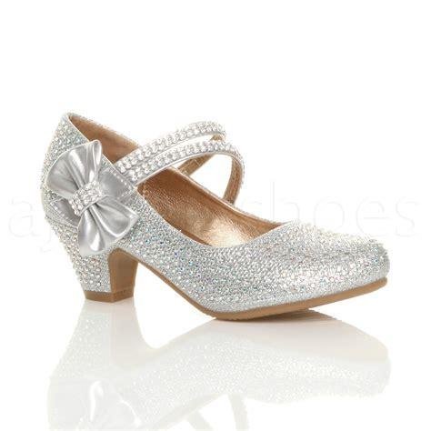 wedding shoes janes childrens low heel wedding