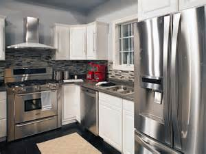 stainless steel small kitchen appliances kitchen white kitchens with stainless steel appliances
