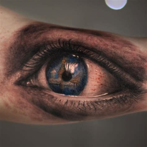 eyeball tattoo realistic arm tattoos dubuddha org part 5
