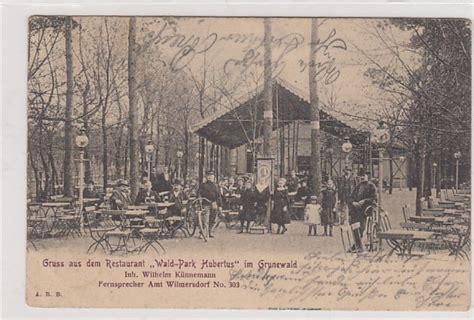 berlin grunewald restaurant alte ansichtskarten postkarten antik falkensee berlin
