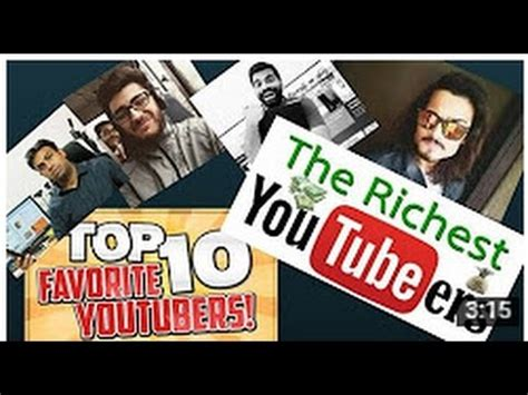 top 10 indian youtubers 2017 richest youtubers in india 2017 popular youtubers 2017 tech smart