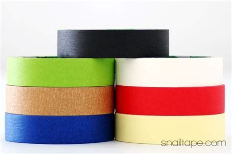 colored masking colored masking manufacturer in snailtape