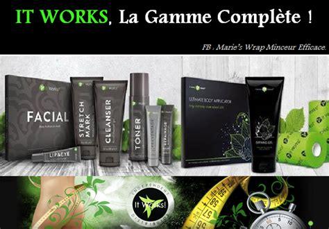 It Works les produits cosm 233 tiques it works prendre soin de