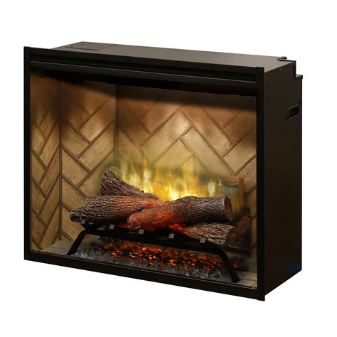 240 Volt Electric Fireplace by Revillusion 30 Quot Built In Firebox Safe Home Fireplace