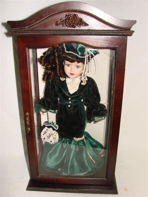 porcelain doll display porcelain doll in display