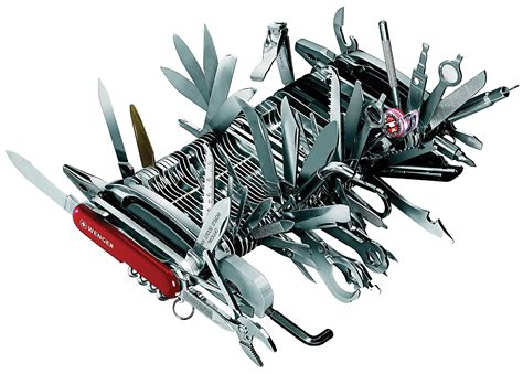 large swiss army knife engineering the world s largest swiss army knife the