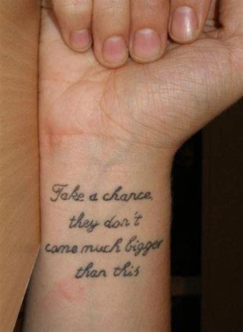 word tattoo designs for women on wrist tattoo designs