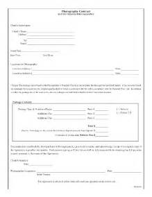 free printable photography contracts fill online