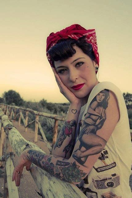 tattoo girl rockabilly pinterest the world s catalog of ideas