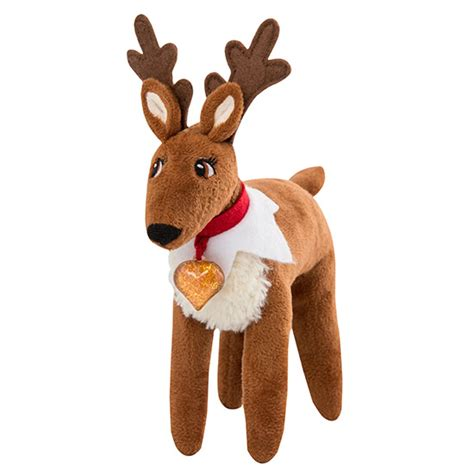 Reindeer On Shelf by On The Shelf Is Back And He Didn T Come Alone Not Socks Gifts