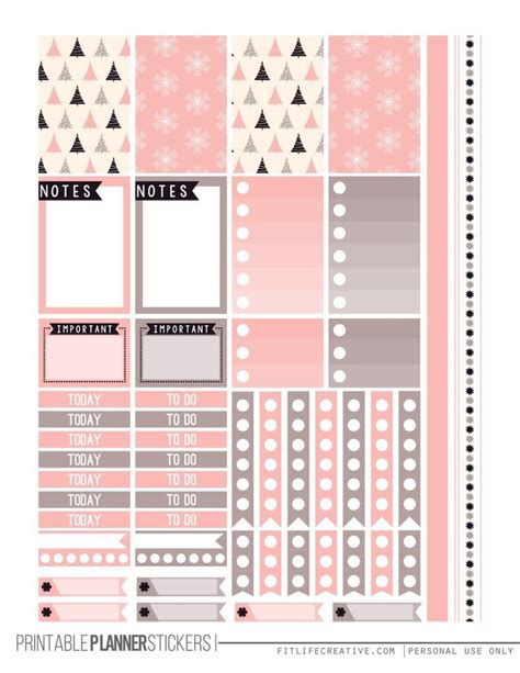 free printable christmas planner stickers 1000 ideas about planners on pinterest planner stickers
