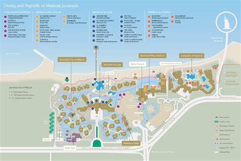 jumeirah resort map get inside jumeirah s al naseem tour around brand
