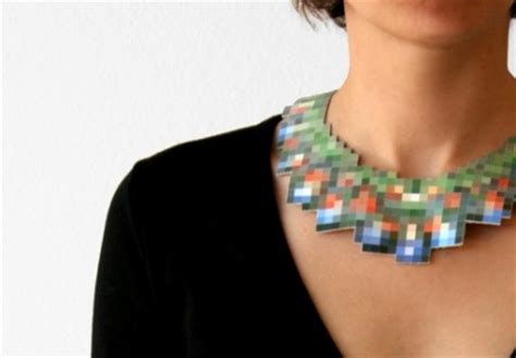 jewelry made from jpgs of other jewelry craziest gadgets