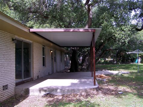 Patio Covers New Braunfels Custom Steel Porch Steel Awning Cover New Braunfels San