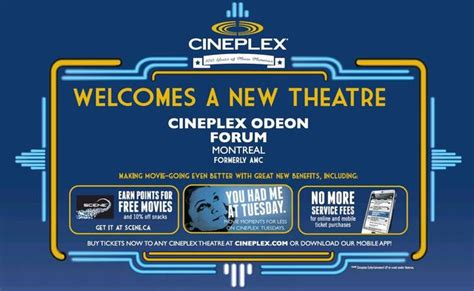 cineplex atwater forum 22 in montreal ca cinema treasures