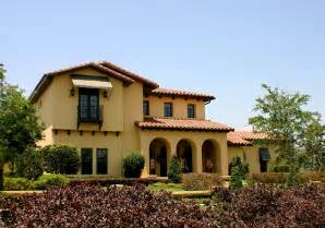 Spanish Style Homes by Architecture Themes Of Spanish Mediterranean Style Homes