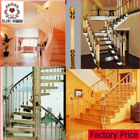 Stair Banisters For Sale by New Design Indoor Modern Baluster Acrylic Stair Railing For Sale Buy Indoor Baluster Modern