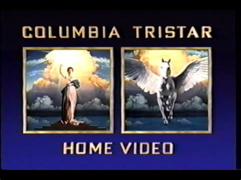 Columbia Tristar Home by Columbia Tristar Home 1996 Company Logo Vhs