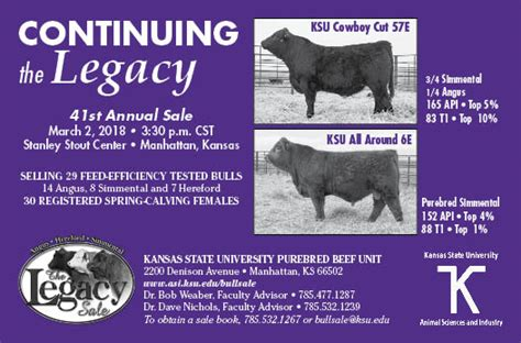 Sale Teh Asi Celup legacy sale animal sciences and industry kansas state