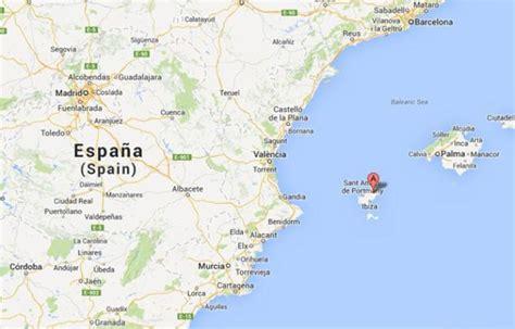 0004488962 carte touristique ibiza and info ibiza espagne voyages cartes