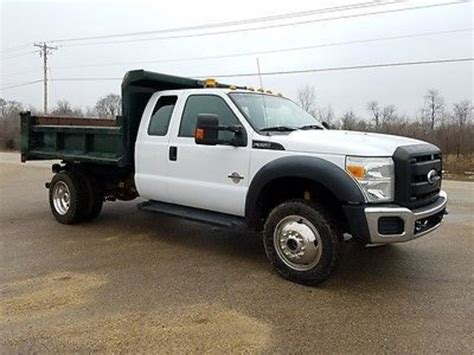 Ford F550 Dump Trucks For Sale Used Trucks On Buysellsearch