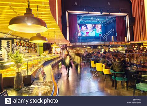 Madrid In Cinema by Platea Madrid A Gourmet Food Located In A Former