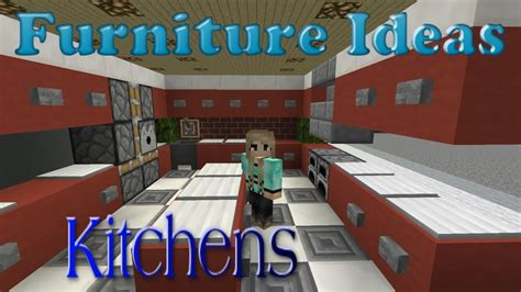 minecraft furniture ideas 4 kiwi designs for kitchen