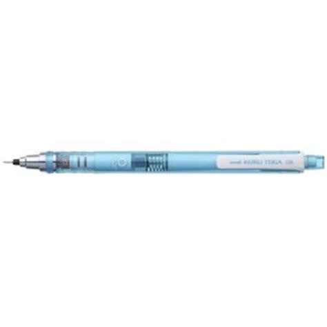 uni kuru toga mechanical pencil 0 5 mm blue officeworks