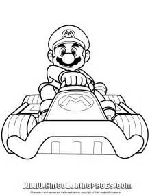luigi mario kart coloring pages images amp pictures becuo