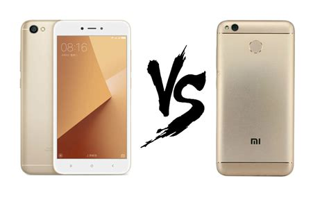 redmi note 5a xiaomi redmi note 5a vs xiaomi redmi 4 war of the budget