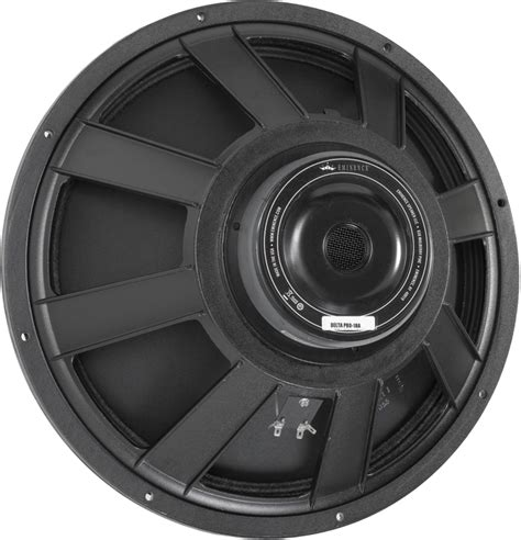 Speaker Eminence 18 Speaker Eminence 174 Pro 18 Quot Delta Pro 18a 500 Watts Antique Electronic Supply