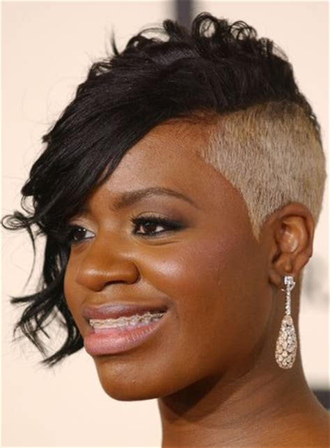 oneside black hair styles side shaved hairstyles for black women hairstyle for