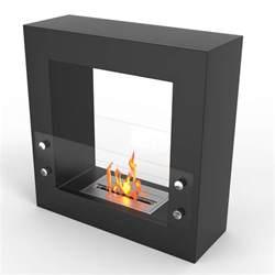 free standing ethanol fireplace regal ventless free standing ethanol fireplace