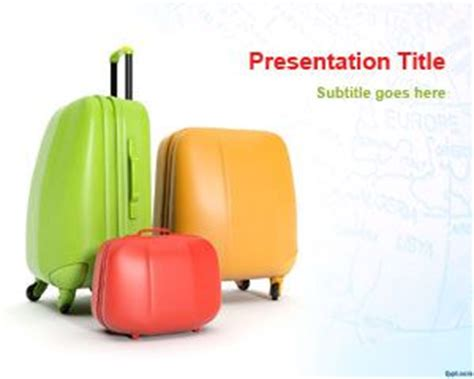 travel themed powerpoint template travel powerpoint template