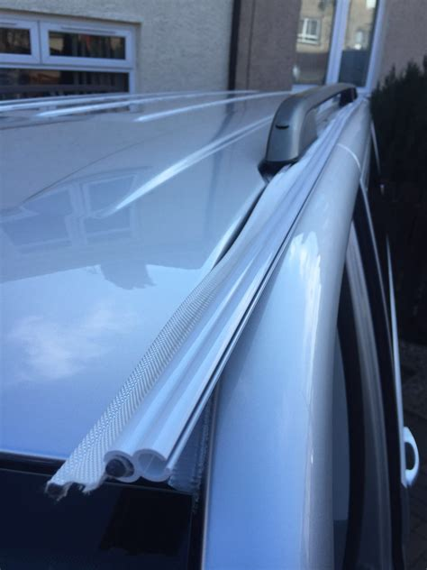 Vw T5 Awning Rail by Vw T5 Bolt On Awning Rail Roof Rail Spacer System Option 2