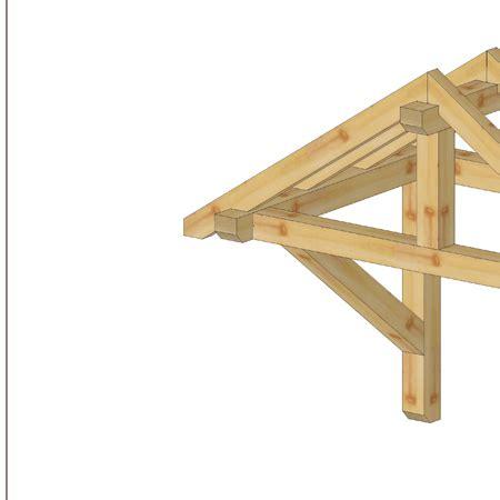 Vordach Holz by Holz Vordach Sattelvordach Massivholz Haust 252 R T 252 R