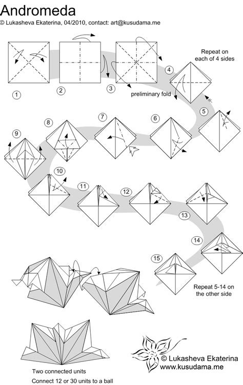Origami Modular Diagrams - 1000 images about origami kusudama on modular
