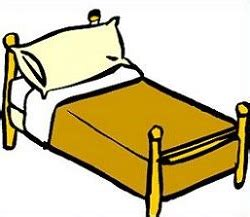 clip on bed l clip bed clipart clipart suggest