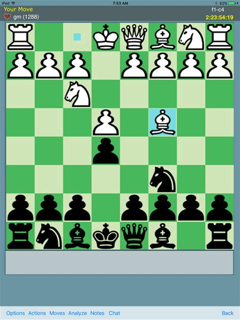 best free chess app chess time multiplayer chess screenshot