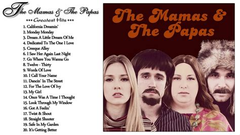 mamas and papas best of the mamas and the papas s greatest hits the best of