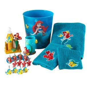 little mermaid bathroom accessories disney little mermaid hand towel home bed bath