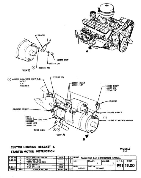 327 chevy starter wiring diagram get free image about