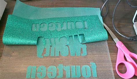 Which Cricut Grip Do You Use With Vinyl - how to cut iron on glitter vinyl frank dimeo