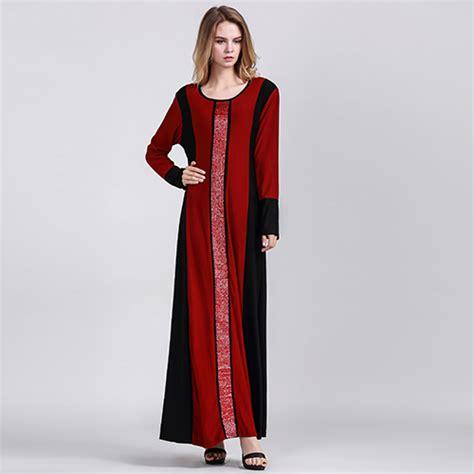 Ariani Tunik Top Maroon Pakaian Muslim Pakaian Wanita Atasan blok warna sequin jubah dress malaysia best