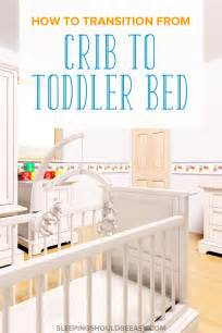 transition from crib to toddler bed with these top 10 tips