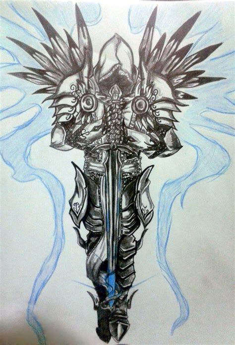 tyrael by pechetj on deviantart